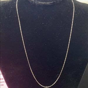 "925 Silver 22"" Necklace"